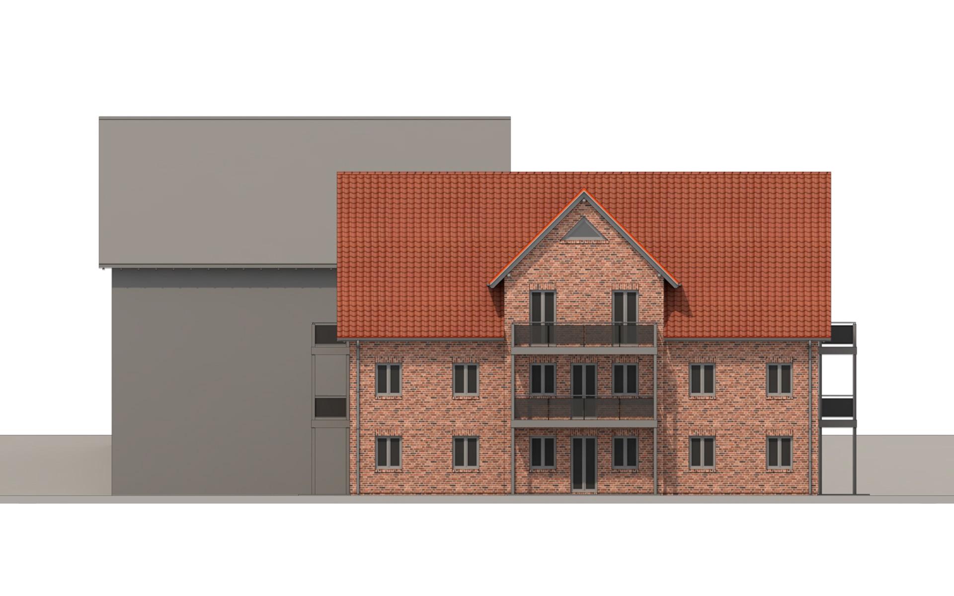 """KG Alstertor Südansicht Projekt """"Drage"""""""