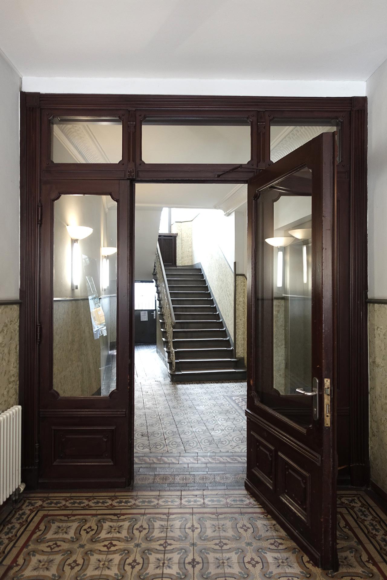 Eingangsportal KG Alstertor